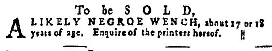 Jun 2 - Pennsylvania Gazette Supplement Slavery 3
