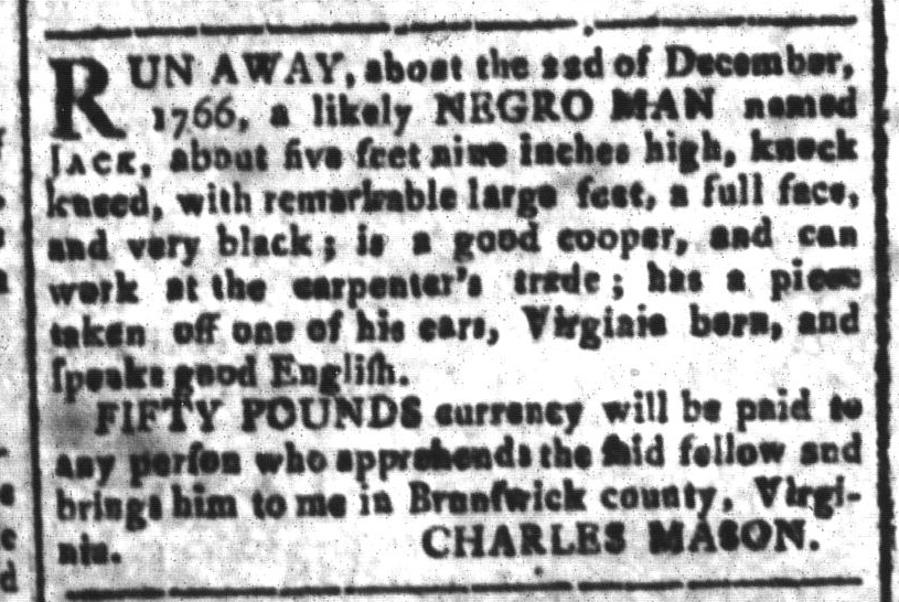 Jun 3 - South-Carolina and American General Gazette Slavery 11