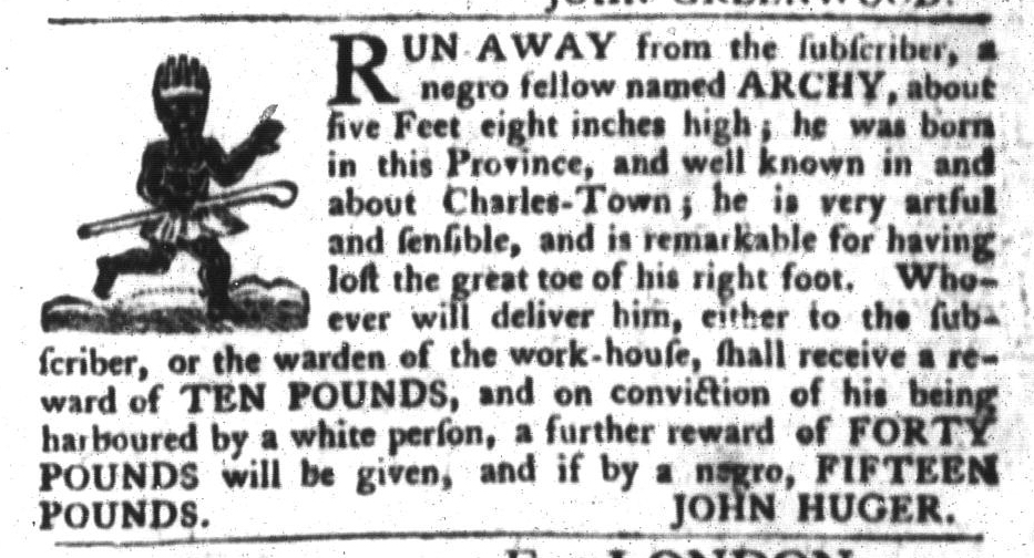May 17 - South-Carolina Gazette and Country Journal Slavery 2