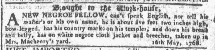 May 18 - Georgia Gazette Slavery 2