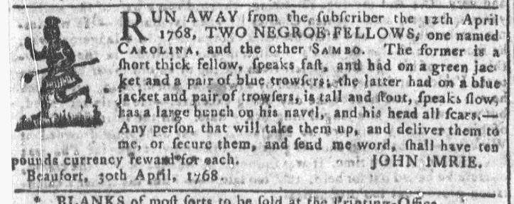 May 18 - Georgia Gazette Slavery 4