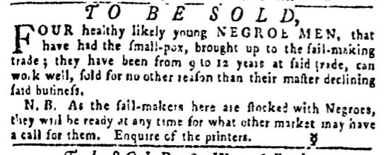 May 19 - Pennsylvania Gazette Slavery 2