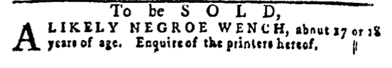 May 19 - Pennsylvania Gazette Slavery 3