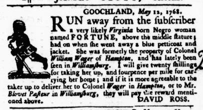 May 19 - Virginia Gazette Purdie and Dixon Slavery 4