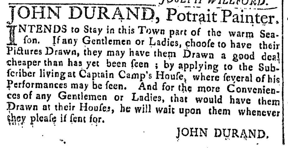 May 20 - 5:20:1768 Connecticut Journal