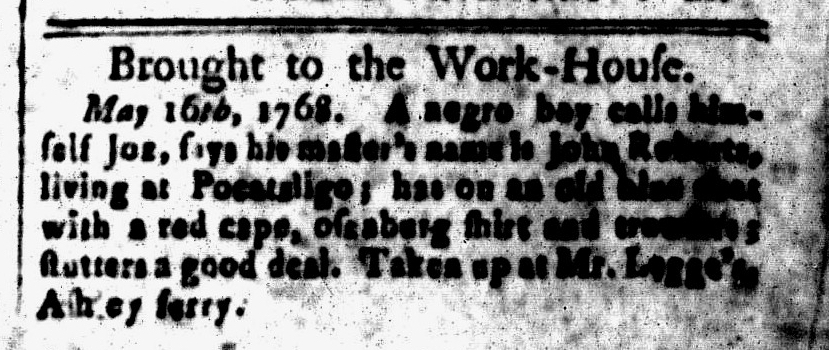 May 20 - South-Carolina and American General Gazette Slavery 2