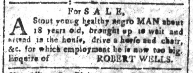 May 20 - South-Carolina and American General Gazette Slavery 9