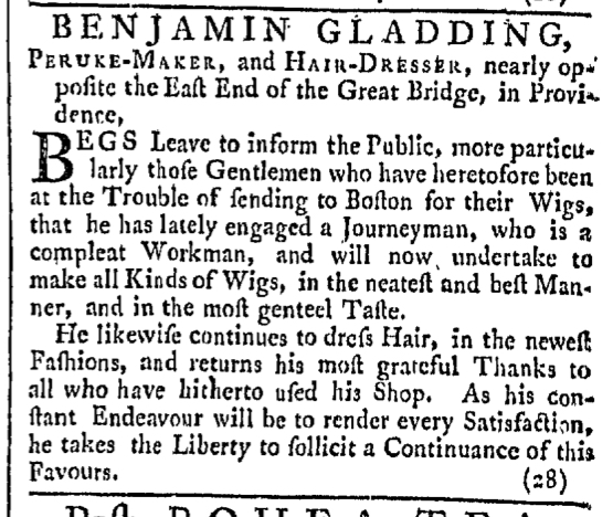 May 21 - 5:21:1768 Providence Gazette