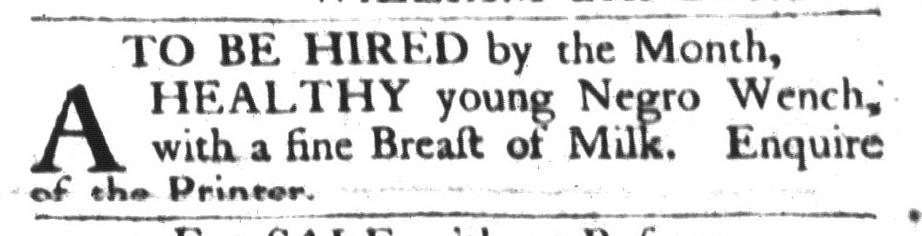 May 24 - South-Carolina Gazette and Country Journal Slavery 2