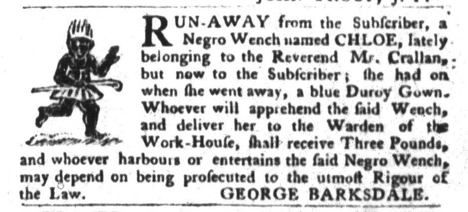 May 24 - South-Carolina Gazette and Country Journal Slavery 4