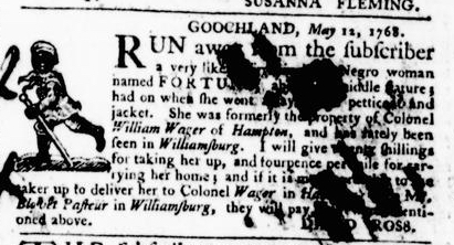 May 26 - Virginia Gazette Purdie and Dixon Slavery 3