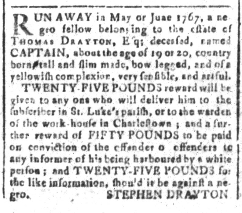 May 27 - South-Carolina and American General Gazette Slavery 4