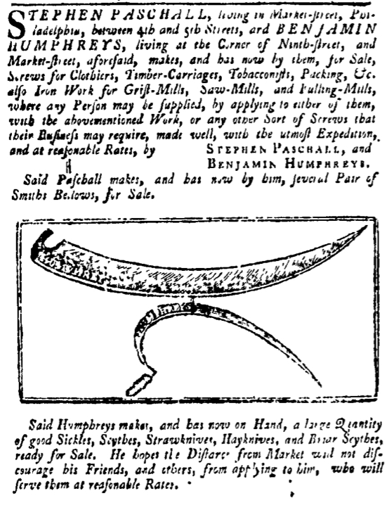 May 29 - 5:26:1768 Pennsylvania Gazette