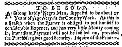 May 30 - Boston-Gazette Slavery 2