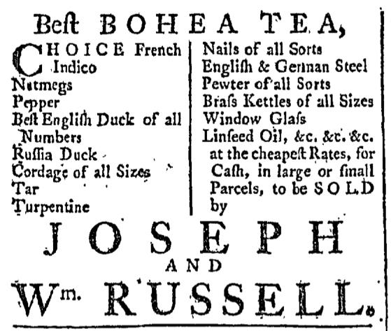 May 7 - 5:7:1768 Providence Gazette