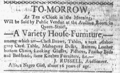 May 9 - Boston-Gazette Slavery 1