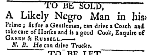 May 9 - Boston Post-Boy Slavery 1