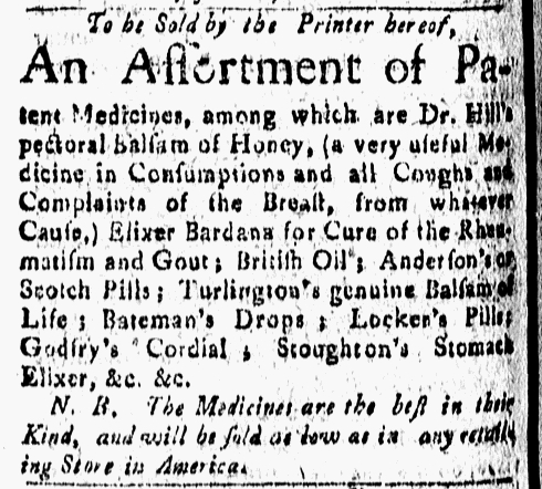 Jul 1 - 7:1:1768 New-London Gazette