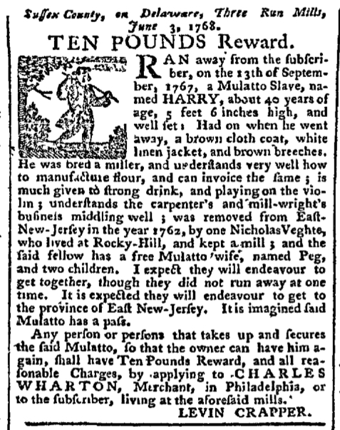 Jul 11 - Pennsylvania Chronicle Slavery 1