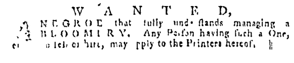 Jul 14 - Pennsylvania Gazette Slavery 3