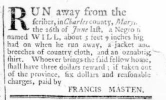 Jul 14 - Virginia Gazette Rind Slavery 2