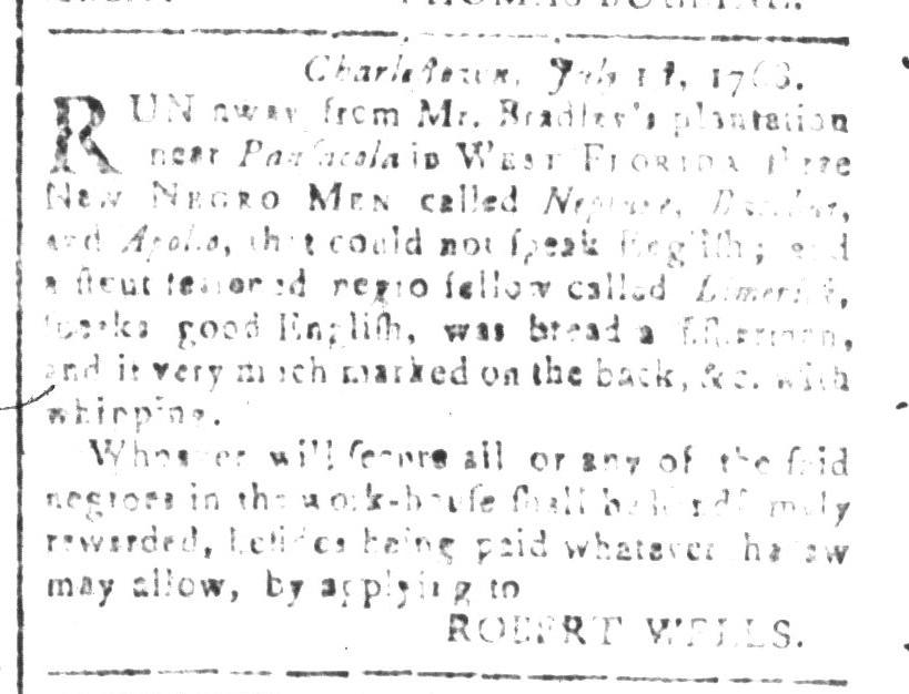 Jul 15 - South Carolina and American General Gazette Slavery 5