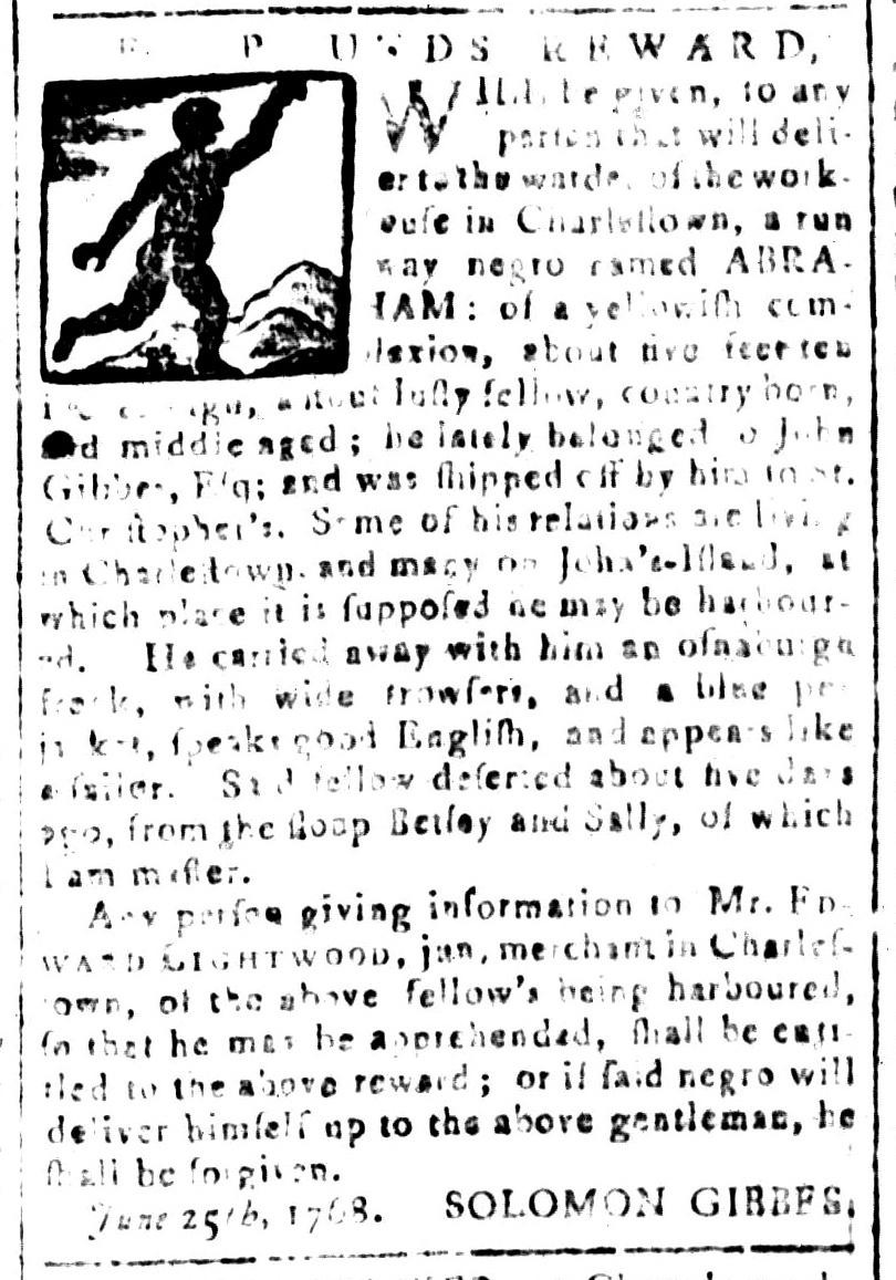 Jul 15 - South Carolina and American General Gazette Slavery 8