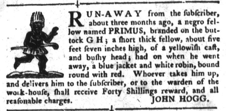 Jul 5 - South-Carolina Gazette and Country Journal Slavery 8