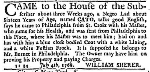 Jul 7 - New-York Journal Slavery 1