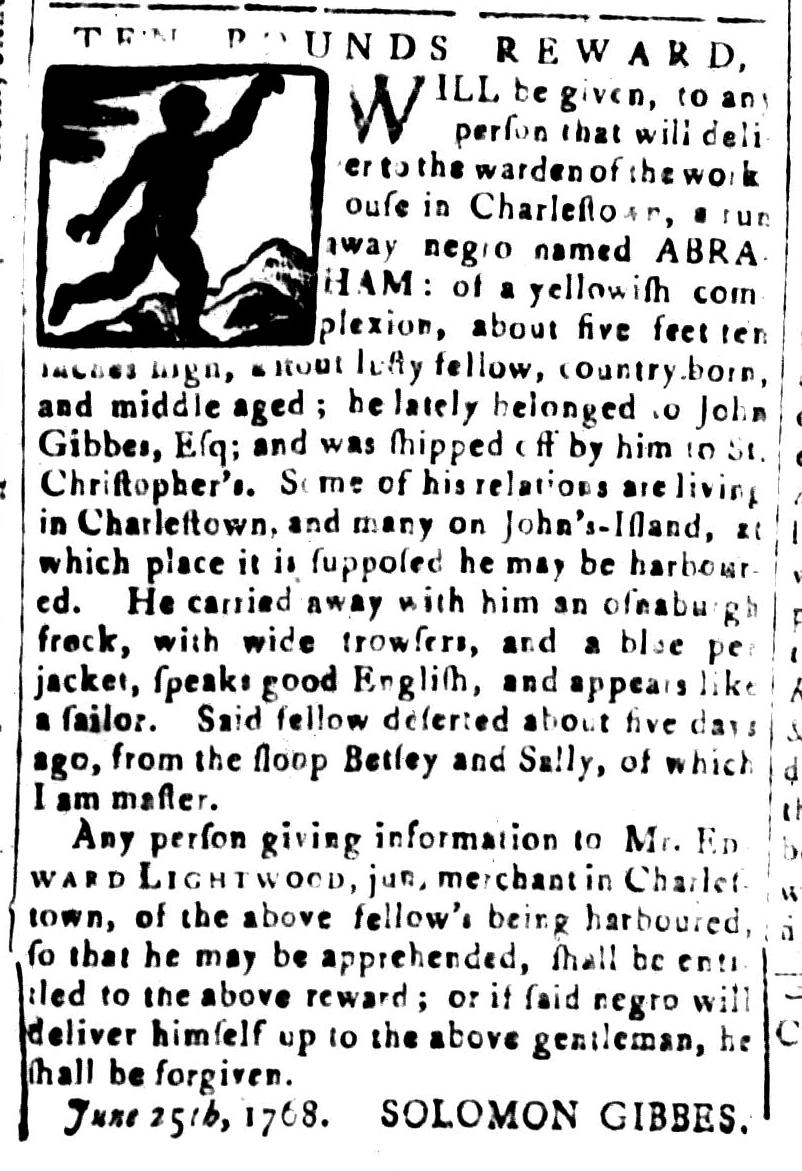 Jul 8 - South Carolina and American General Gazette Slavery 15