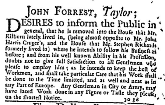 Jul 9 - 7:9:1768 New-York Journal Supplement