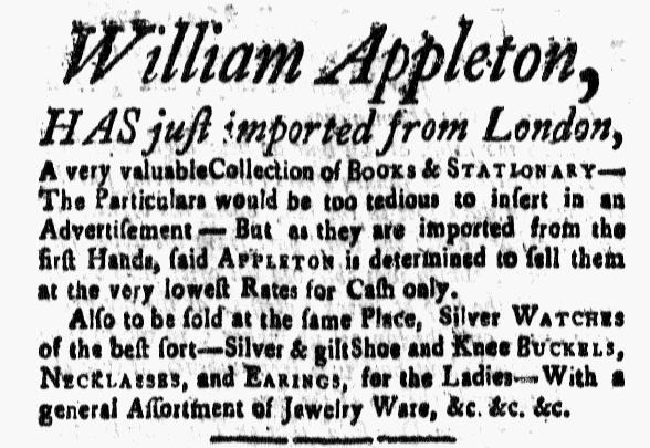 Jun 10 - 6:10:1768 New-Hampshire Gazette