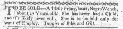 Jun 13 - Boston-Gazette Slavery 1