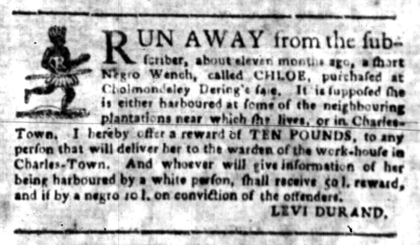 Jun 13 - South Carolina Gazette Slavery 2