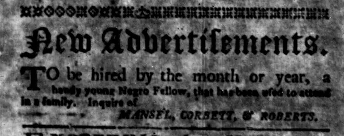 Jun 13 - South Carolina Gazette Slavery 3