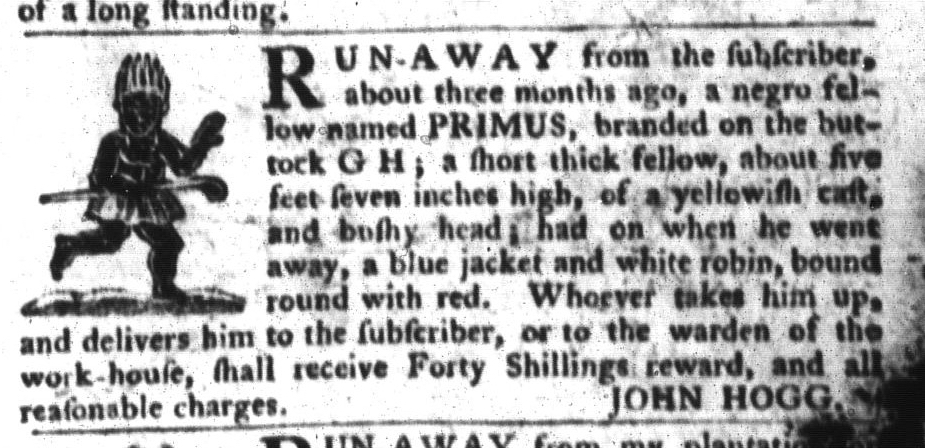 Jun 14 - South-Carolina Gazette and Country Journal Slavery 6