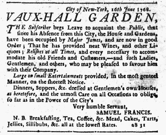 Jun 16 - 6:16:1768 New-York Journal