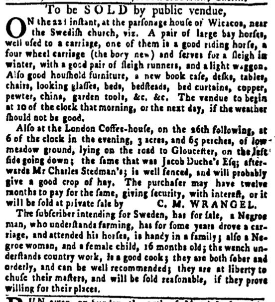 Jun 16 - Pennsylvania Gazette Slavery 2