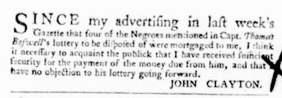 Jun 16 - Virginia Gazette Purdie and Dixon Slavery 7
