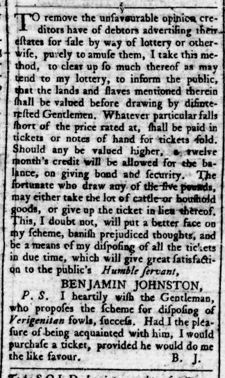 Jun 16 - Virginia Gazette Rind Slavery 3