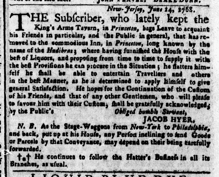 Jun 20 - 6:20:1768 New-York Gazette Weekly Post-Boy