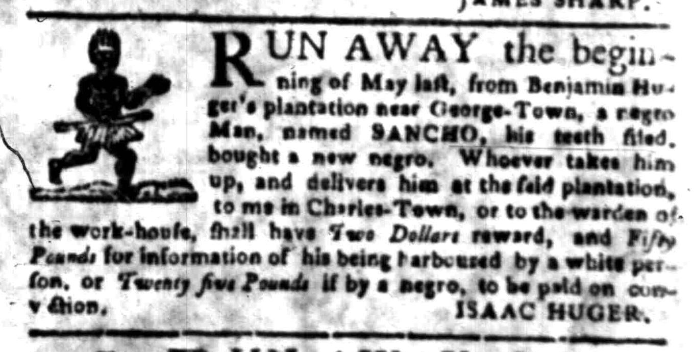 Jun 20 - South-Carolina Gazette Slavery 2