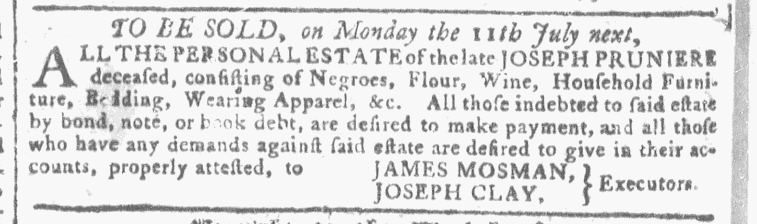 Jun 22 - Georgia Gazette Slavery 6