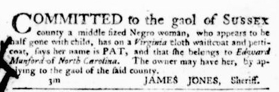 Jun 23 - Virginia Gazette Purdie and Dixon Slavery 7