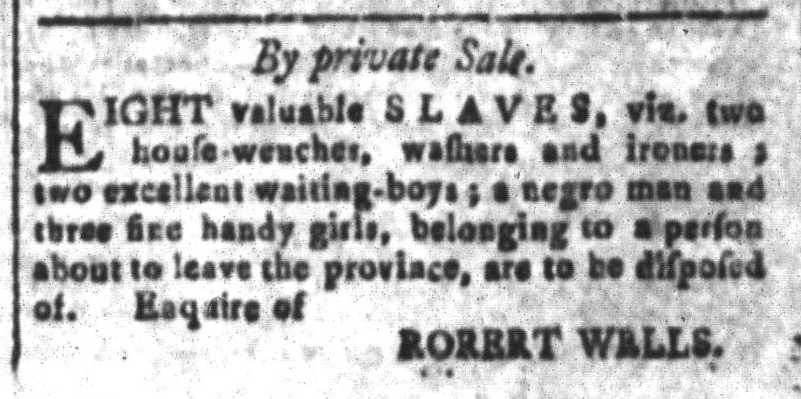 Jun 24 - South-Carolina and American General Gazette Slavery 7