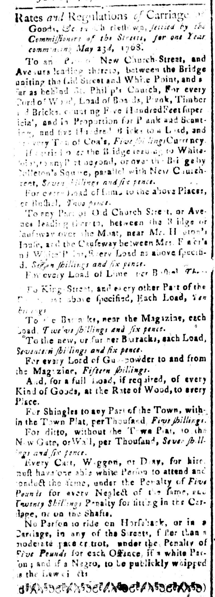 Jun 24 - South-Carolina and American General Gazette Slavery 9