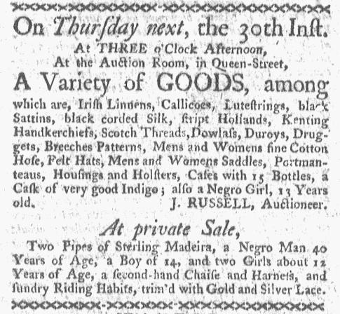 Jun 27 - Boston-Gazette Slavery 1