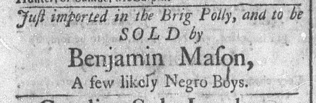 Jun 27 - Newport Mercury Slavery 2
