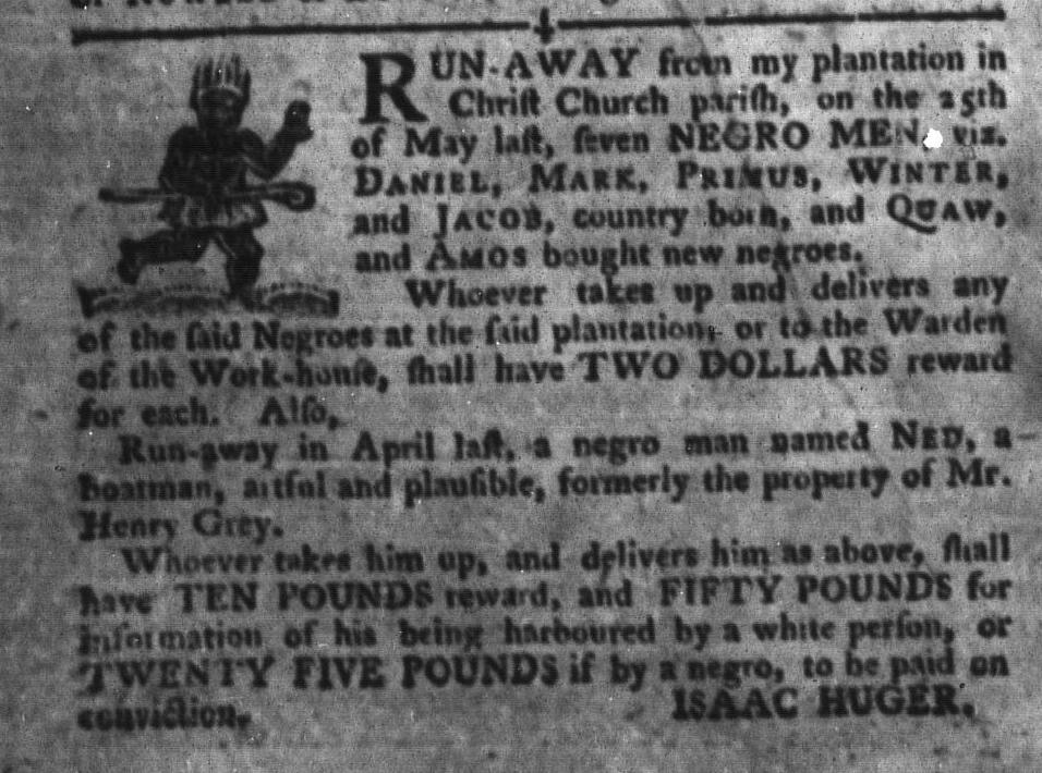 Jun 28 - South-Carolina Gazette and Country Journal Slavery 11