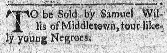 Jun 6 - Connecticut Courant Slavery 1